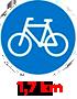 1,7 km
