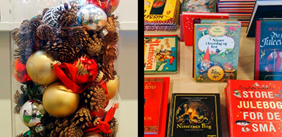 Jul i børnebiblioteket