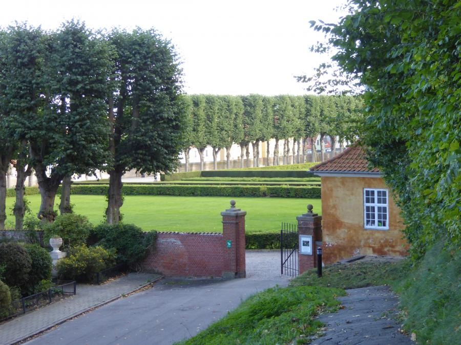 Foto fra Marienlyst Slotspark