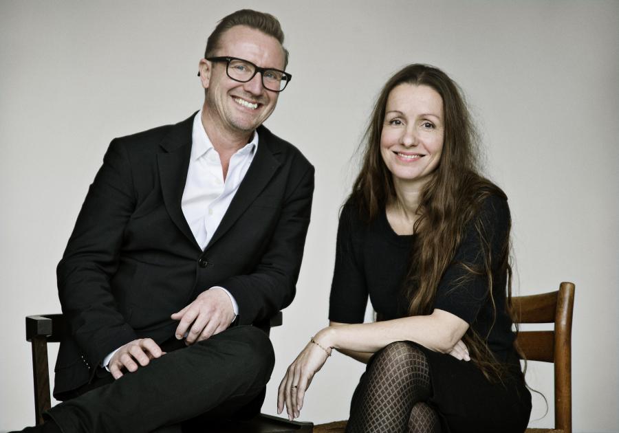 Rasmus Bregnhøi og Sabine Lemire