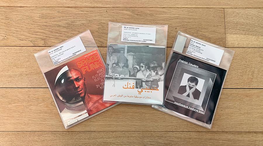 Tre opsamlings cd'er, der kan lånes på Biblioteket Kulturværftet