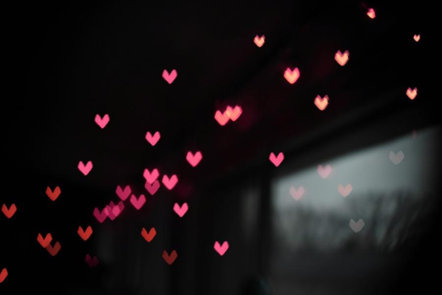 Collage med hjerter