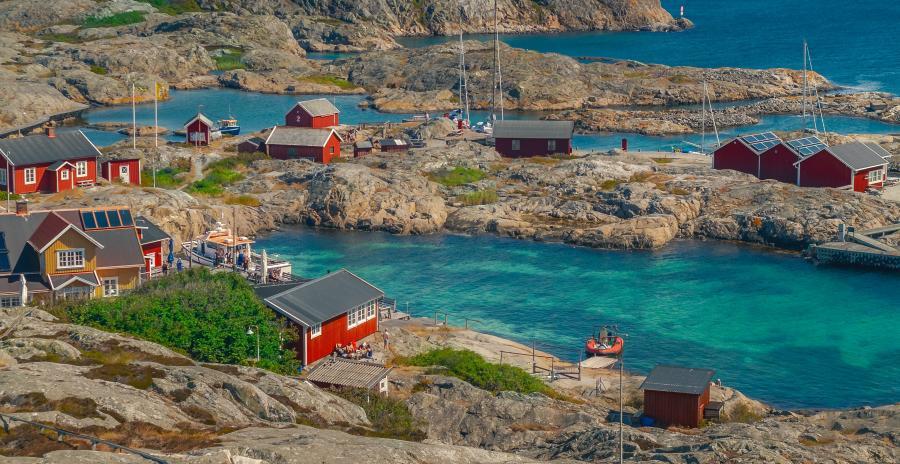 Foto af svensk skærgaard