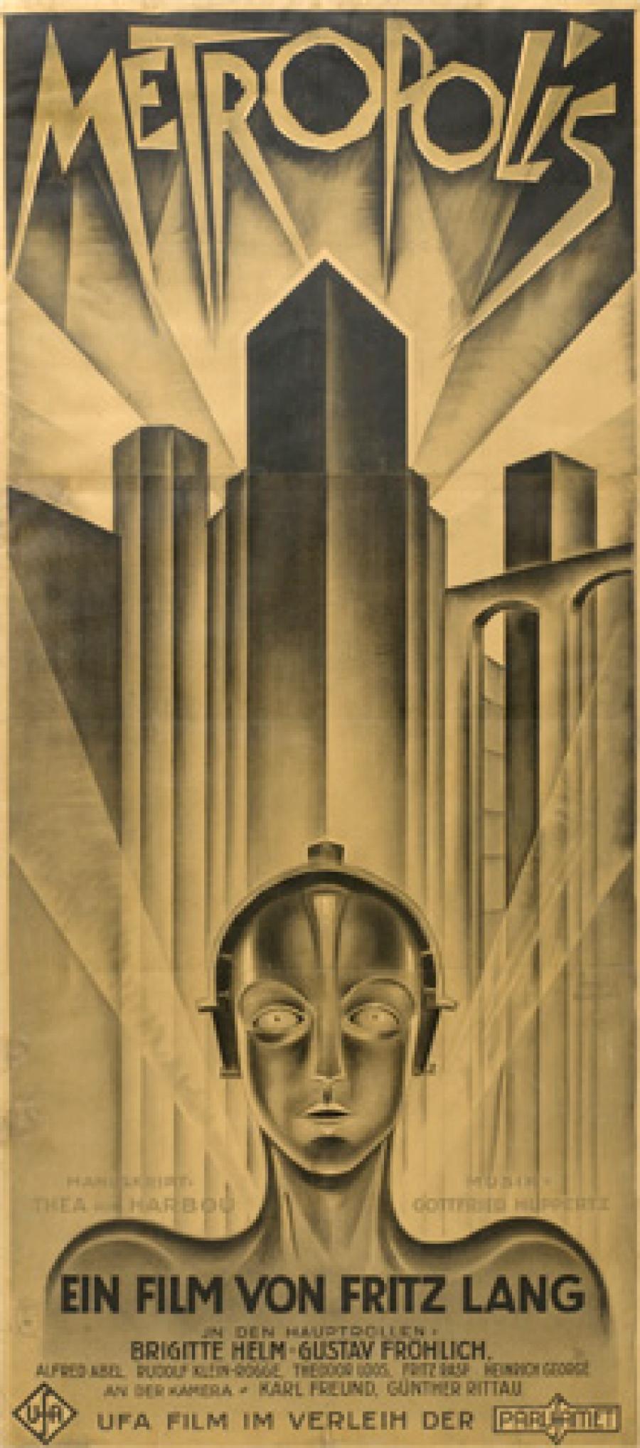 Billede af filmplakaten for Metropolis