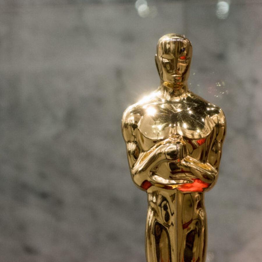 Foto af Oscar-statuen